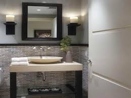 modern small half bathroom ideas modern double sink bathroom