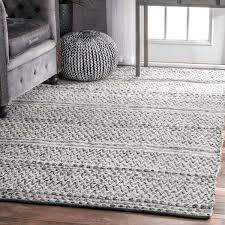 Outdoor Chevron Rug Nuloom Flatweave Chevron Striped Indoor Outdoor Patio Silver Rug
