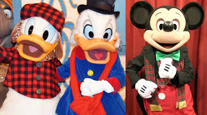 mickey u0027s merry christmas party character montage 2016