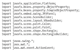 embedding javafx scenes in swing and swt applications collections