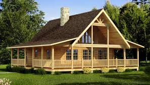 homes log home rustic country house plans design plans d969 hahnow