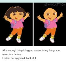 Egg Meme - dora s bald egg head laugh out loud pinterest egg memes and