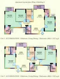 floor plans of dlf carlton estate gurgaon apartments flats in