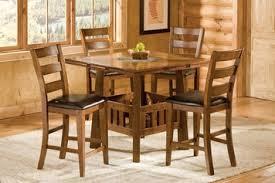 Drop Leaf Bar Table New Castle Drop Leaf Pub Table With Tile Lazy Susan Center By