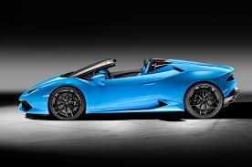 Lamborghini Huracan Back View - lamborghini huracan lp 610 4 spyder unveiled photo u0026 image gallery