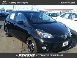 new toyota vehicles 2017 new toyota yaris 5 door se automatic at kearny mesa toyota