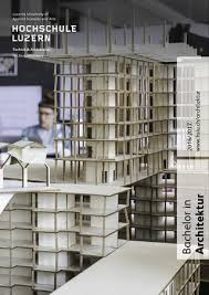 architektur studiengã nge fachbereich architektur fachinformation 2016 by fachbereich