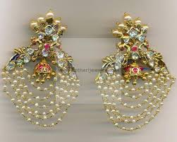earrings in gold gold earrings gold rings 22kt kasu lakshmi jhumki flat