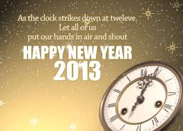 happy newyear 2013 greeting cards with wish messages