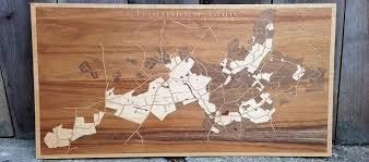 corporate orders woodcut maps