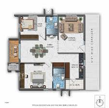 2 bhk house plan east face 2 bhk house plan kerala with lovely north facing plot