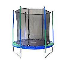 amazon black friday original toy company trampoline stats 8 foot round trampoline with enclosure toys
