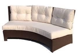 Rattan Curved Sofa Decorating Curved Outdoor Sofa Thedigitalhandshake Furniture