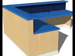 Stand Up Reception Desk Build A Reception Desk Youtube