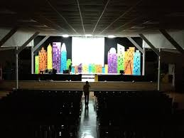 cost effective stage design for a children u0027s event easy diy