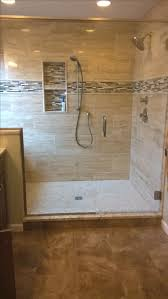our new large master bath shower window and bench are to the left