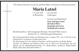 Sparkasse Baden Baden Maria Latzel Maria Latzel