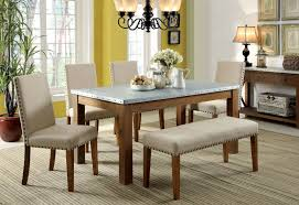 walsh industrial style galvanized table top 6 piece dining table