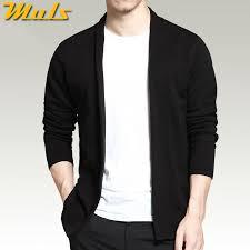 black shrug sweater cardigan shawl sleeve black color autumn casual