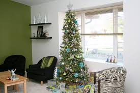 decorating a modern home narrow christmas tree interior design ideas