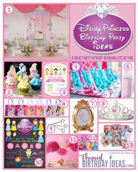 disney princess birthday party ideas u2013 themed birthday ideas