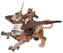 amazon com papo bird man and war griffin toys u0026 games