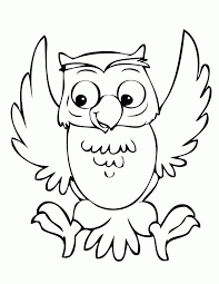 cute owl coloring pages getcoloringpages on printable pictures