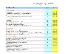Technology Skills Resume Examples by Stjohns Technology Skills Check List Sample