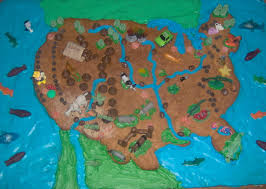 Fake Map Cookie Map Food Fake Out Pinterest Geography