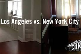 rent battle what you can get in los angeles vs new york city