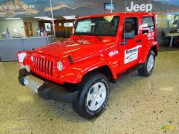 flame red jeep 2012 flame red jeep wrangler sahara 4x4 73233689 photo 2