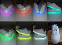 ladies light up shoes customized design cool colorful led sport shoes light up shoes for