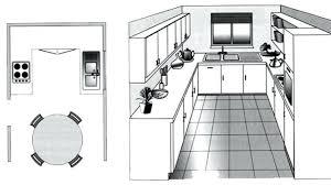 cuisine rectangulaire idee deco cuisine rectangulaire cethosia me
