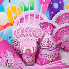 themed party supplies diy princess girl kids birthday decoration set princess theme party