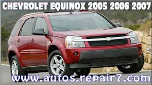 manual de mantenimiento y servicio chevrolet equinox 2005 2006