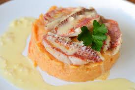 cuisiner rouget filets de rouget purée carottes cannelle cookerei by salomé