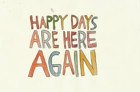 again happy happy days statement text image 121312 on favim
