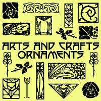 arts and crafts fonts p22 arts and crafts ornaments webfont