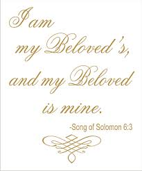 i am my beloved i am my beloved s wedding sign stencil available in 4 sizes