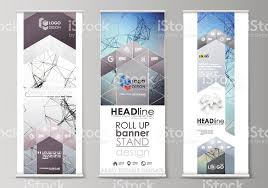graphic design templates for flyers roll up banner stands abstract geometric design templates vertical