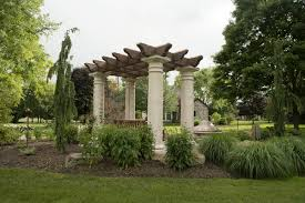 Pergola With Swing by Tuscan Style Pergola Swing For Mark Church In Canton Ohio
