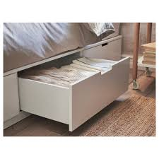 nordli bed frame with storage queen ikea