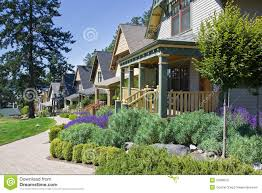 Craftsman House Style Craftsman Style Cottage Homes Royalty Free Stock Photo Image