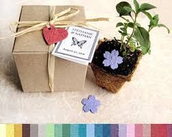 seed paper wedding favors plantable paper wedding favors flower herb seed by recycledideas