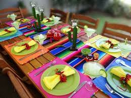 Mexican Dining Room Furniture by Table Decoration Ideas Mexican Style Napkin Rings Chilly Peppers
