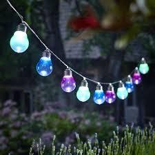 Large Solar Light led outdoor globe string lights hampton bay outdoor solar powered