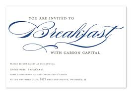 after wedding brunch invitation wording invited to breakfast corporate invitations by invitation