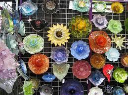 Garden Glass Art Glass Garden Flowers Home Design Ideas And Pictures