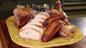 how to salt a turkey the chew