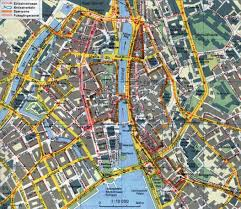 large detailed road map of zurich city center zurich city center